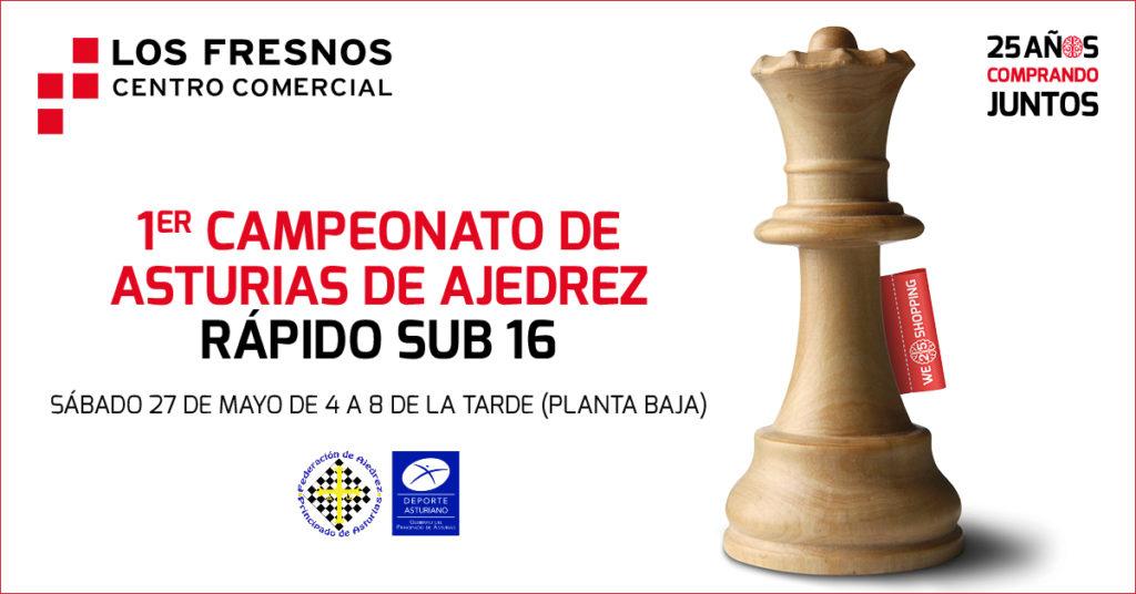 1er Campeonato de Asturias de Ajedrez rápido en Los Fresnos
