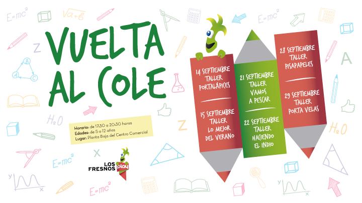 Talleres Gratuitos Vuelta al Cole