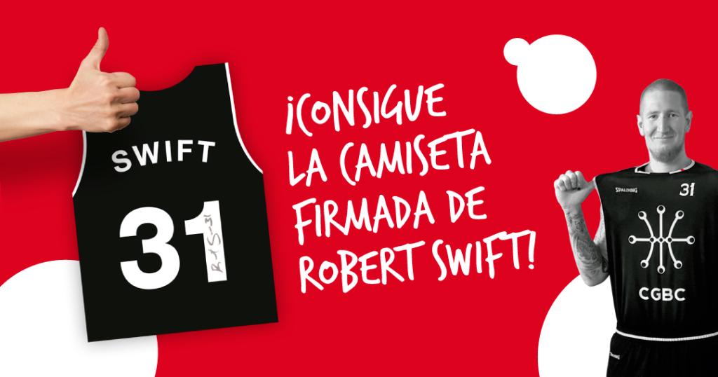 Consigue la Camiseta Oficial de Robert Swift