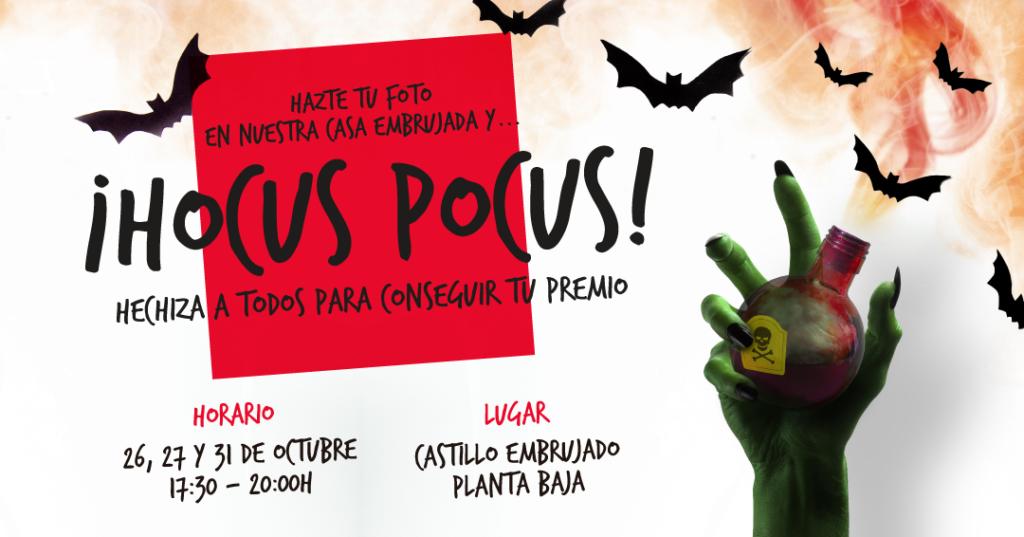En Halloween ¡Hocus Pocus!