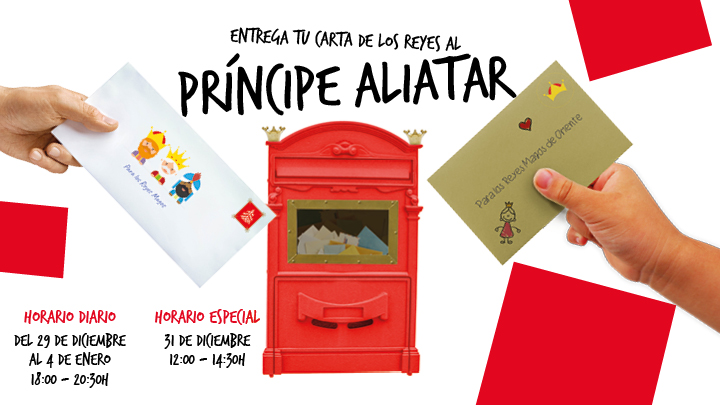 Entrega tu carta real al Príncipe Aliatar