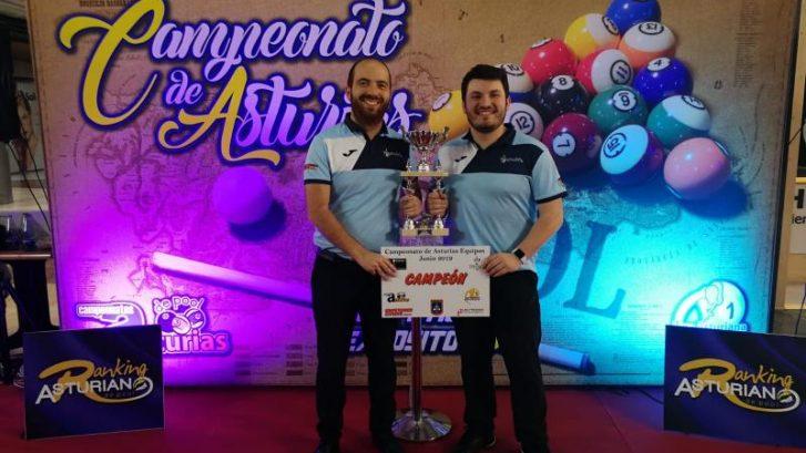 El Anubi$ Revalida el Título de Campeón de Asturias por Equipos