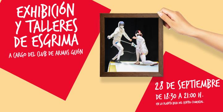 Exhibición y talleres de Esgrima