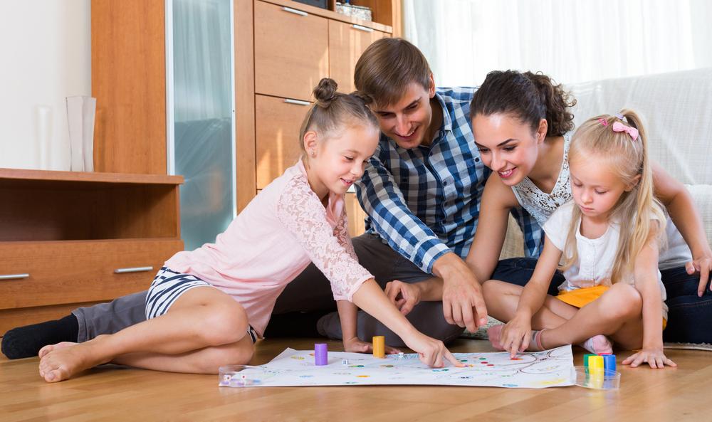 Ocio en familia en vuestros hogares