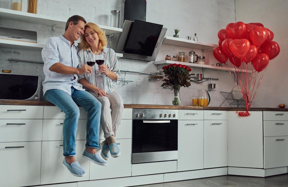 Un romántico San Valentín en casa