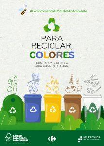 Cartel_Digital para reciclar colores Los Fresnos